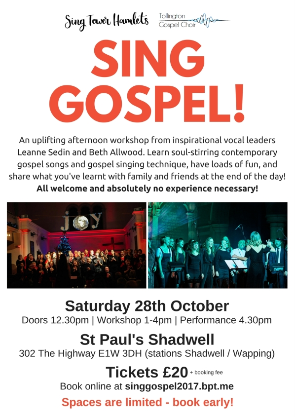 Sing Gospel Oct 2017 - POSTER