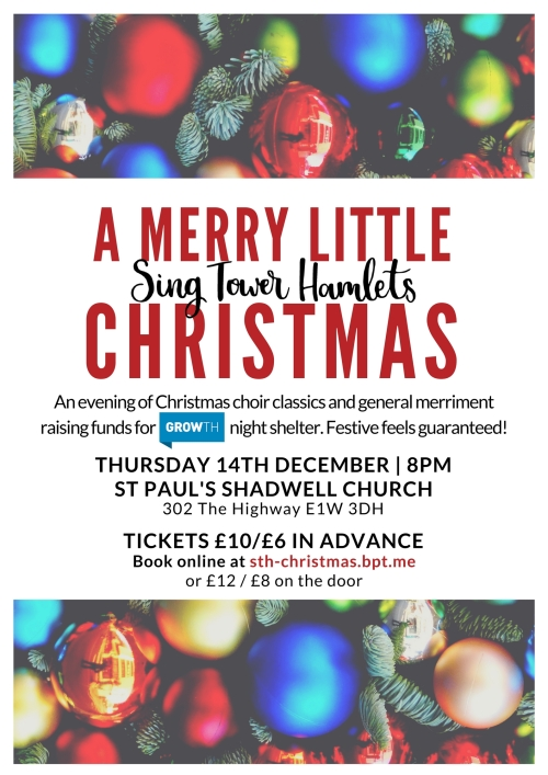 A Merry Little STH Christmas - CONCERT POSTER