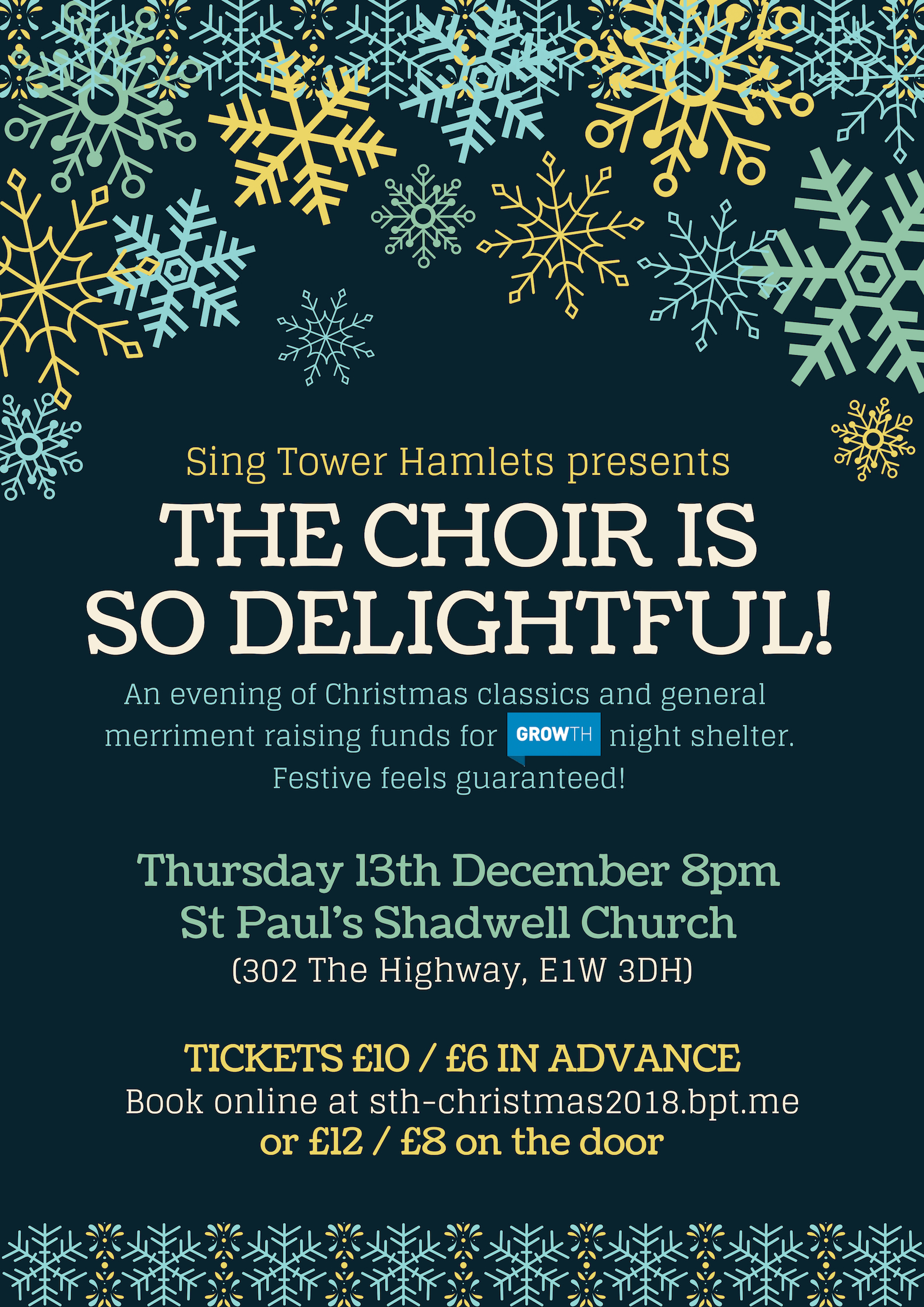 CONCERT POSTER - The Choir is so Delightful